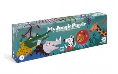 Londji My jungle puzzle di 22 pezzi