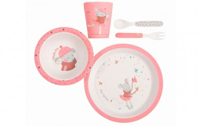 Set Pranzetto Rosa